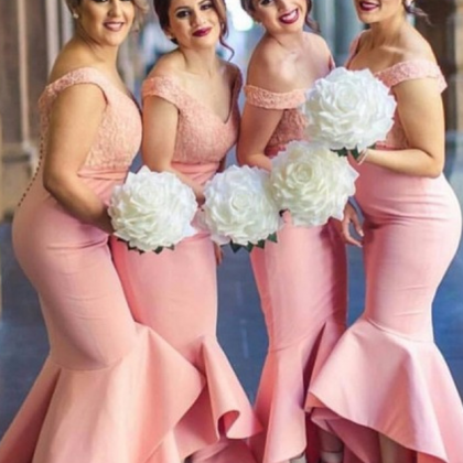 Charming Bridesmaid Dress,Mermaid B..