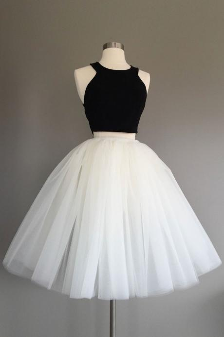Tulle Prom Dress,Vintage Prom Dress,Short Prom Dress,Graduation Dress,Homecoming Dress F2704