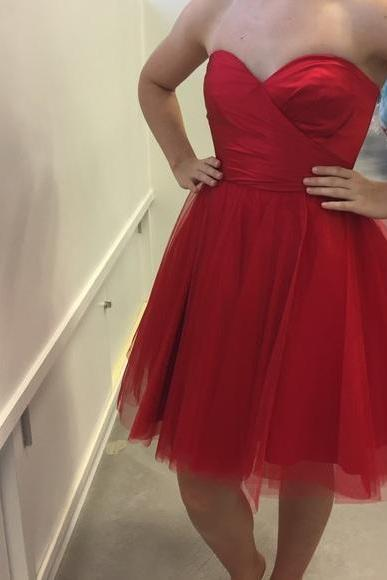 Charming Prom Dress,Red Prom Gown,Sexy Prom Dress,Cute Prom Party Dress F3783
