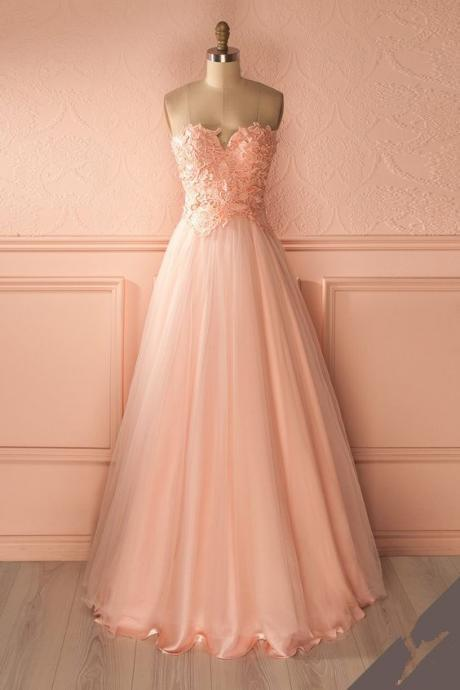 A Line Prom Dress, Lace Homecoming Dress,Elegant Prom Gown,Tulle Evening Dress,Sleeveless Party Dress F3859