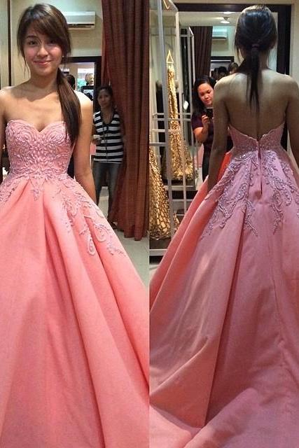 Charming Prom Dress,Long Prom Dresses,Ball Gown Prom Dress Evening Dress,Sexy Prom Party Dress F298