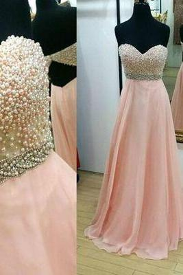 Charming Prom Dress,Sexy Sleeveless A Line Prom Dress,Beaded Evening Dress,Backless Prom Gown F479