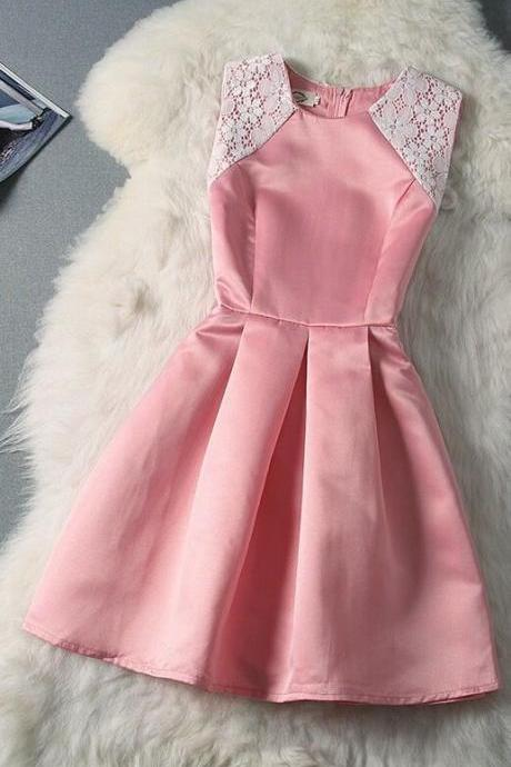 Sexy Prom Dress,Elegant Prom Dress,Lovely Short Prom Gown F1058