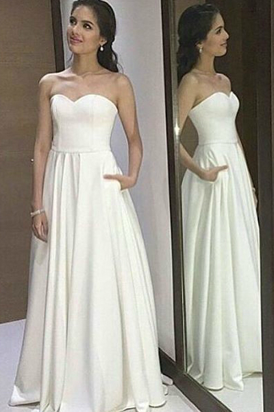 New Arrival Sleeveless Prom Dress,Simpe Open Back Prom Dresses,Prom Gown,Sexy Party Dress F1305