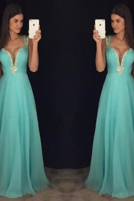 Charming Prom Dress,Sexy Prom Dress,Chiffon Prom Dresses,Formal Evening Dress F1601